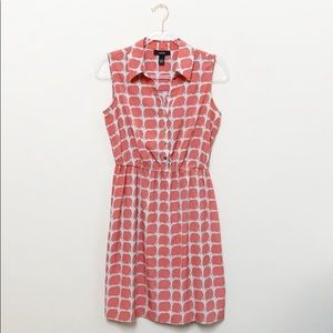 Alfani Collard Elephant Print Dress Size 6
